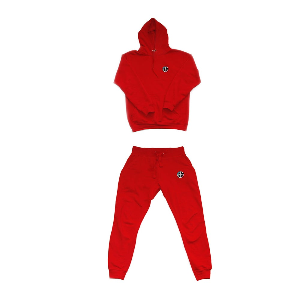 Image of C.A.S. Red Sweatsuit