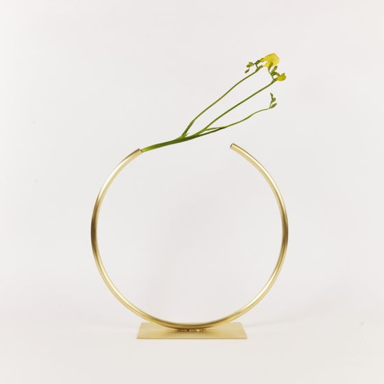Image of Circle and U Vases by Anna Varendorff for ACV Studio at acvstudio.com