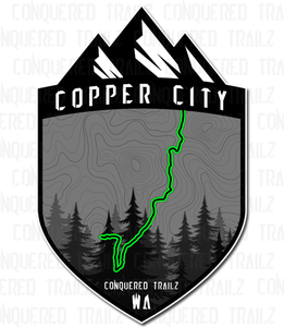 "Image of ""Copper City"" Trail Badge"