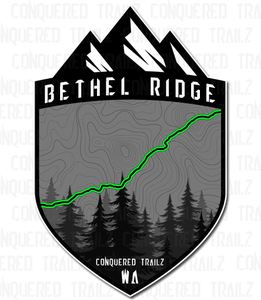 "Image of ""Bethel Ridge"" Trail Badge"