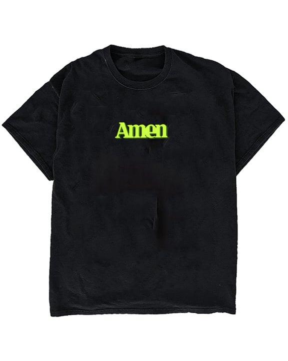 Image of AMEN TEE - BLACK