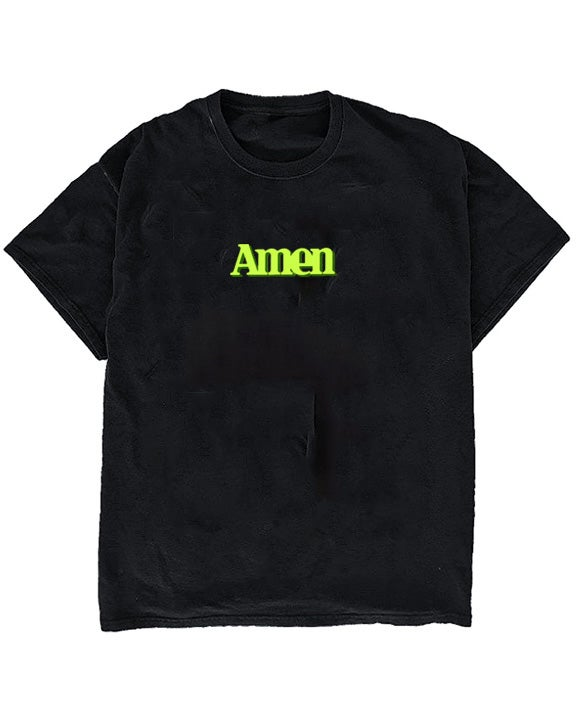 Image of AMEN TEE - BLACK