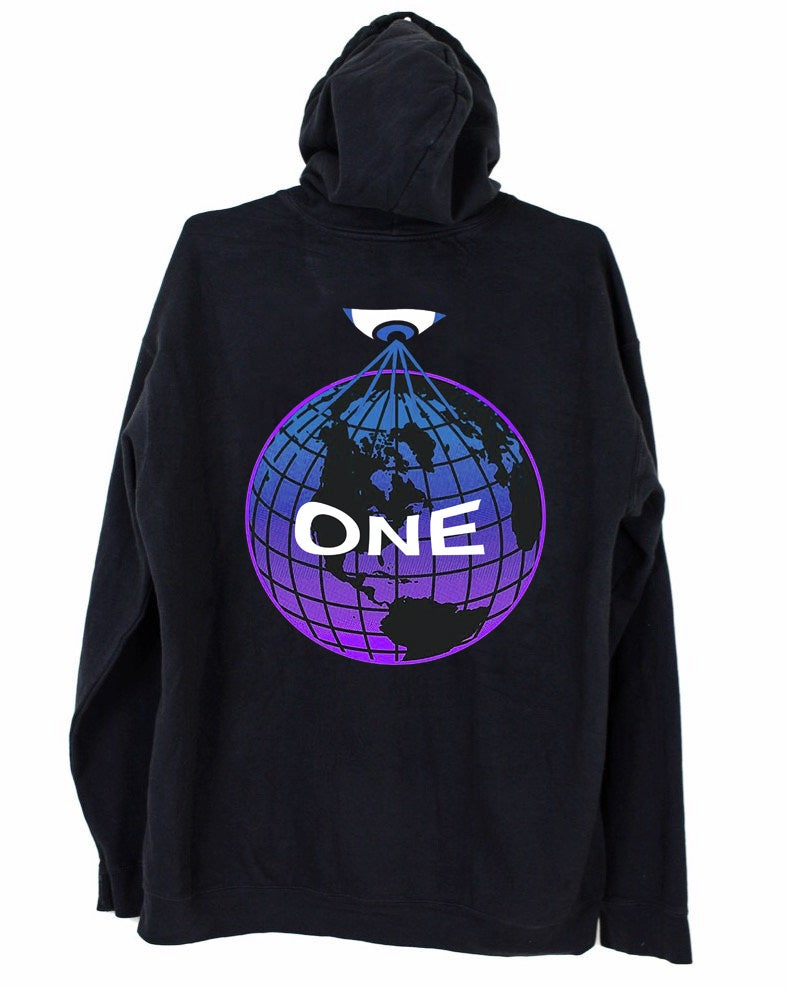 Image of ONE HOODIE - BLACK
