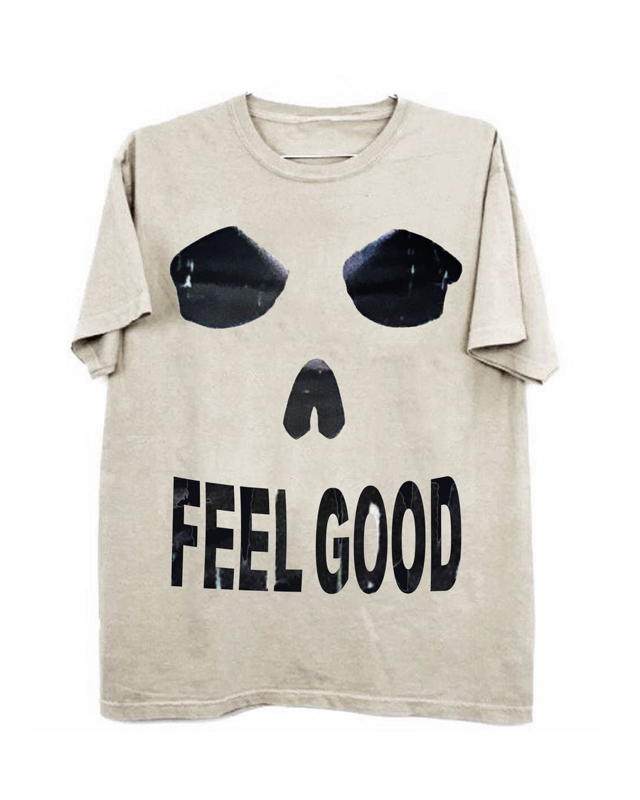 Image of FEEL GOOD TEE - BONE