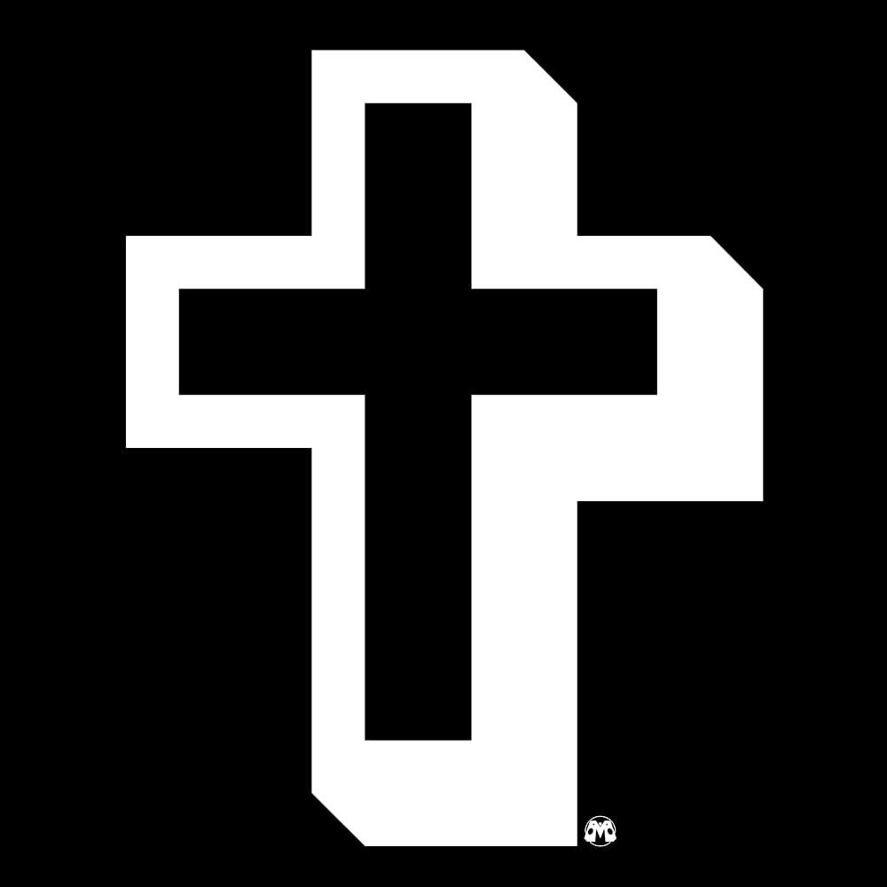 Image of Мᴉᴄᴚʘ$ΘГ†  ͿΞϟՍƧ / Wingdings Cross shirt