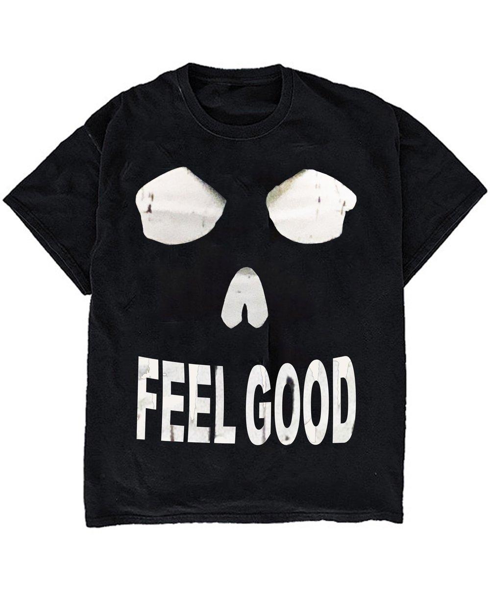 Image of FEEL GOOD TEE - BLACK
