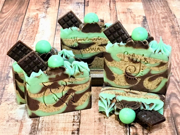 Image of Mint Mocha Goat Milk Soap