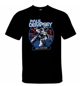 Image of Paul Dempsey Astronaut t-shirt