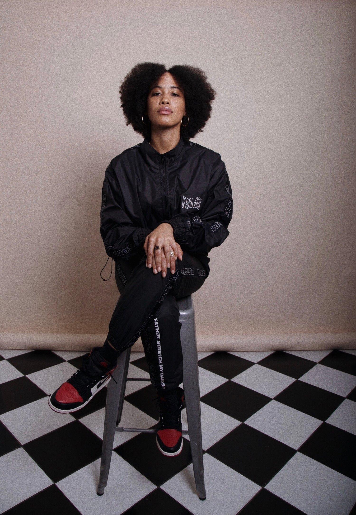 Image of FSMB®  Black nylon pants