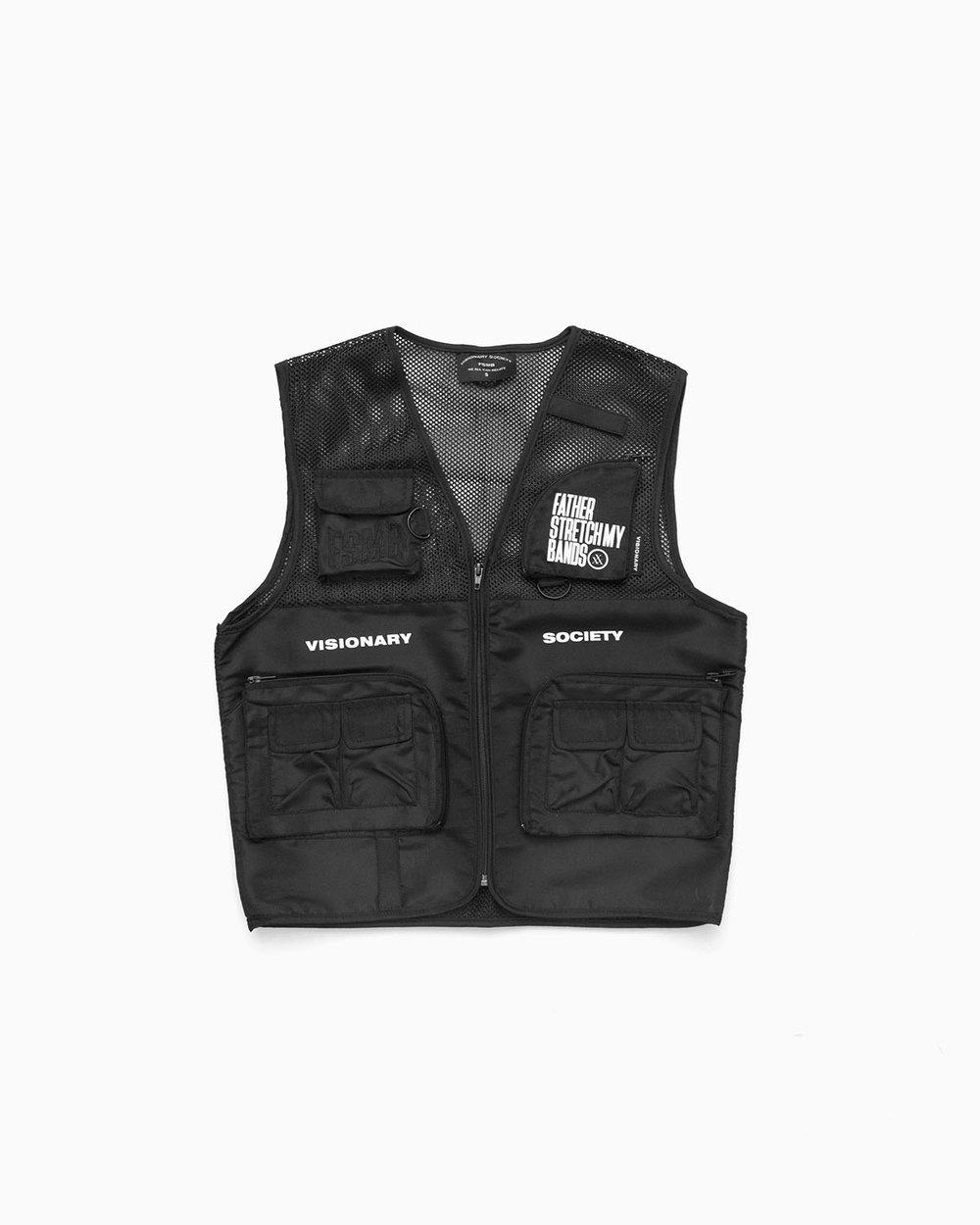 Image of FSMB Black Tactical vest