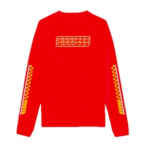 Image of SOLD OUT | RED GODDESS UNLIMITED LONG SLEEVE SHIRT | OFFICIAL GLAM 3.0 RELEASE