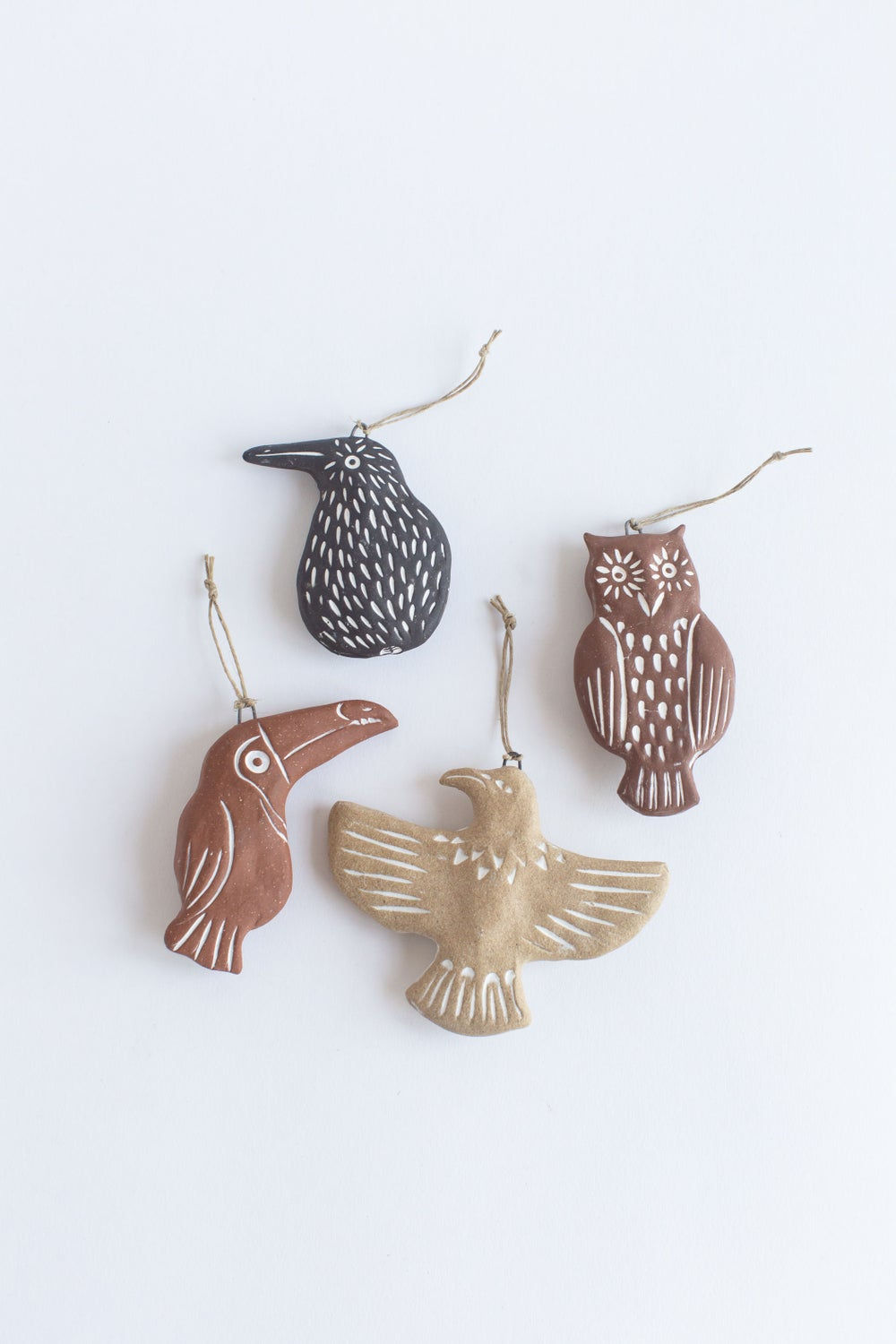 Image of BIRD ORNAMENTS
