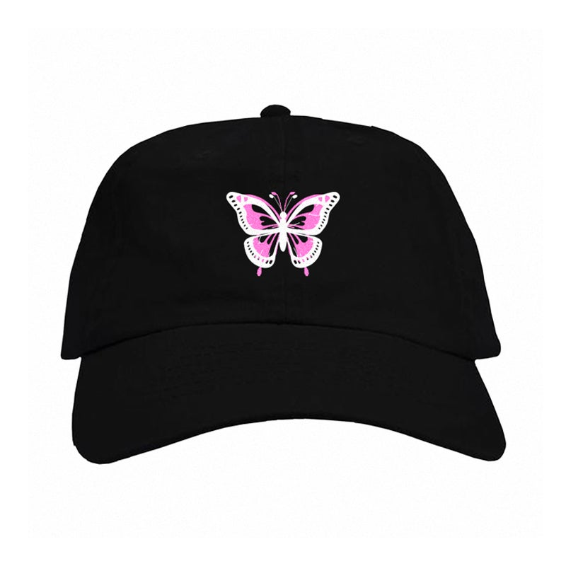 Image of GLAM BUTTERFLY EFFECT OFFICIAL DAD HAT | OFFICIAL GLAM 3.0 RELEASE