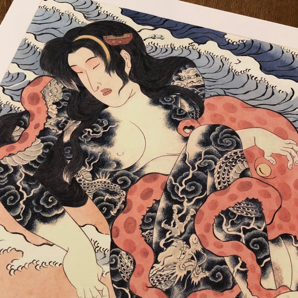 Image of HORIHIRO TAKO TO ONNA PRINT