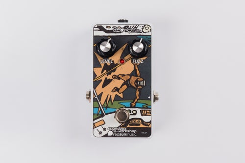 Image of Red Sun Music: Quadrafuzznia RS2F Fuzz Pedal