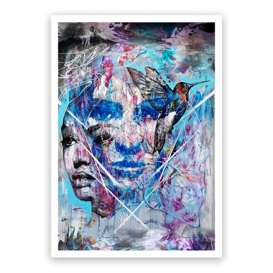 Image of The Brave Face - OPEN EDITION PRINT - FREE WORLDWIDE SHIPPING