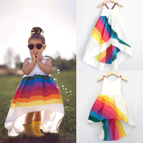 Image of Girls summer beach dress