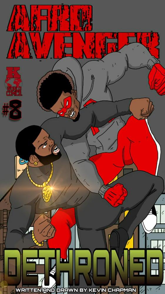 Image of Afro Avenger Issue 8