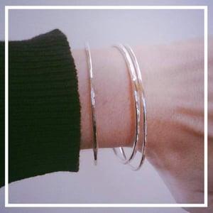 Image of Bracelet Martelé