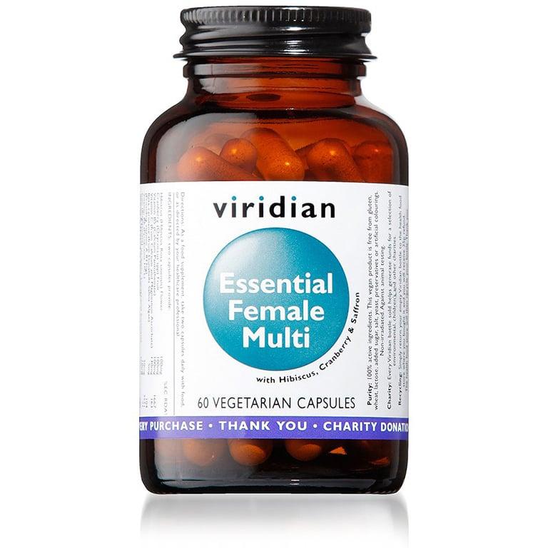 Image of Essential Female Multi Veg 60 Capsules