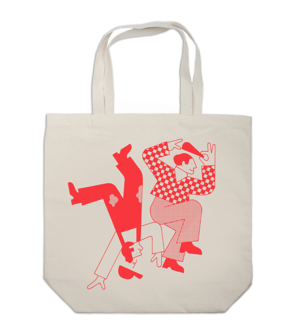Image of 'Lets Dance' Tote Bag