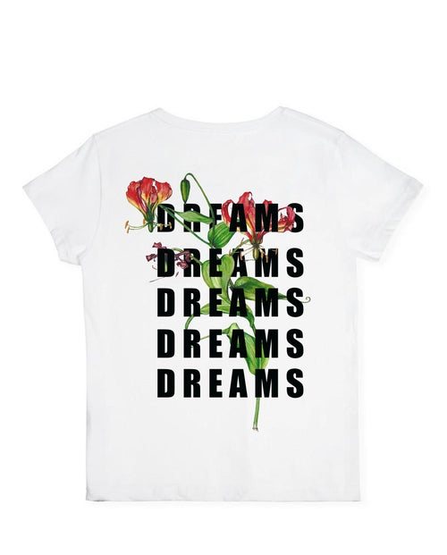 Image of White Soul'd Dreams T-shirt (M)
