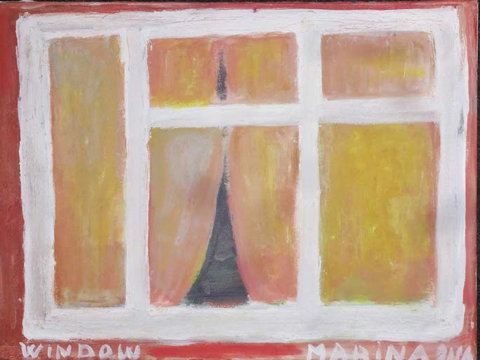 "Image of ""Window.""  Acrylic Painting."