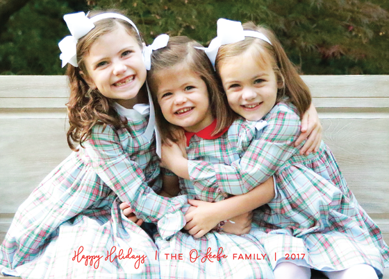 Image of Quite Simple Holiday Card