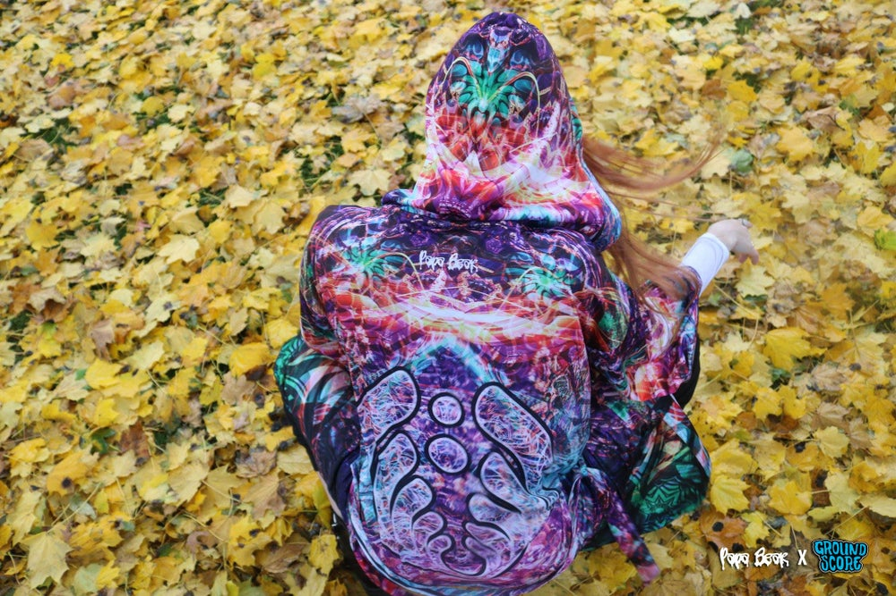 Image of Papa Bear - Colorstorm Kimono