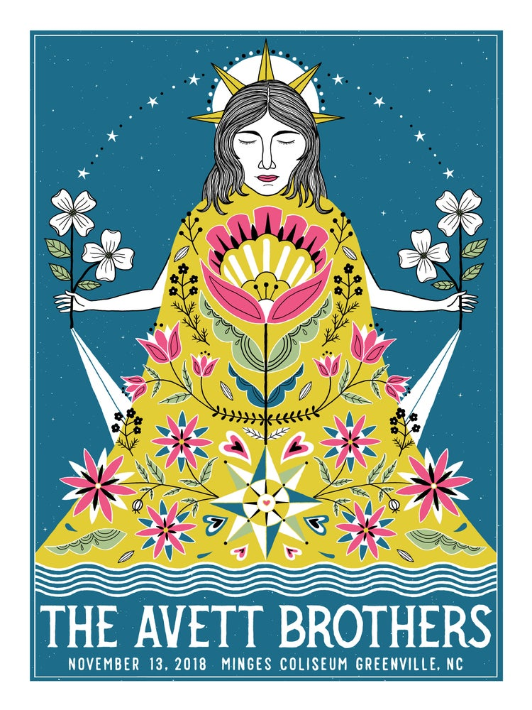 Image of The Avett Brothers Greenville 11.13.2018