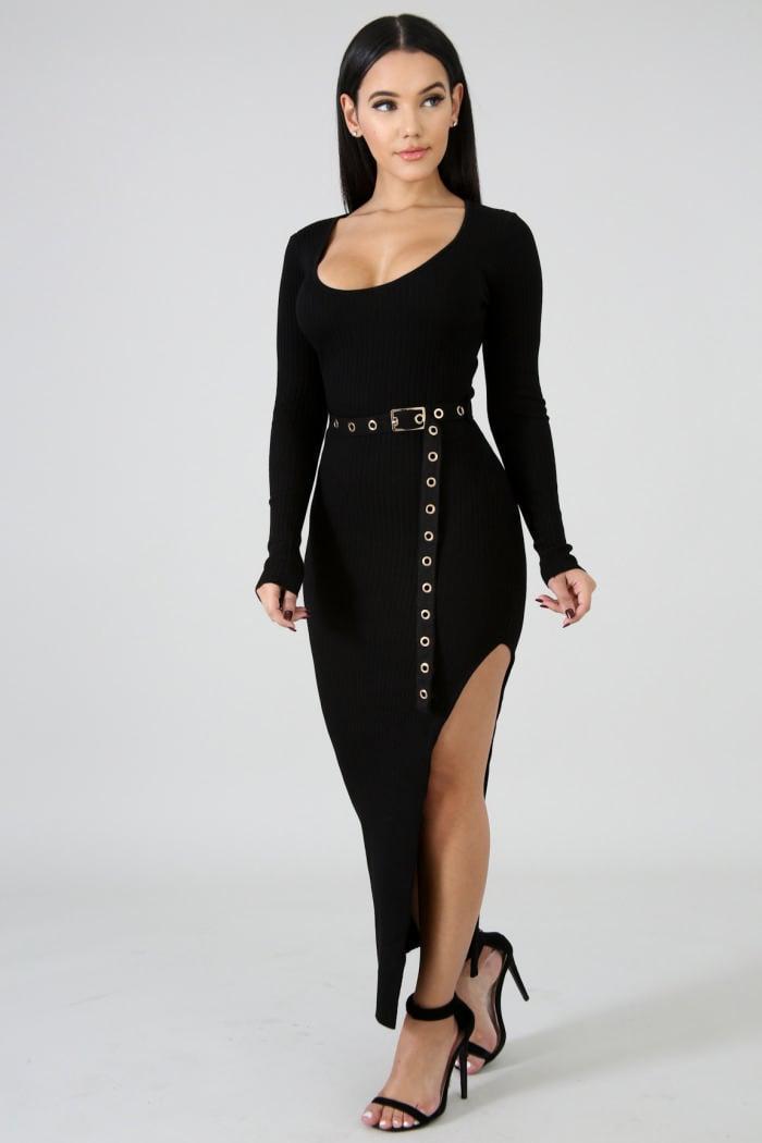 Image of Karla Dress Black