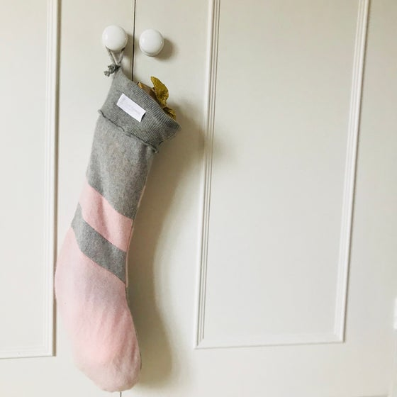Image of Cashmere Christmas Stocking