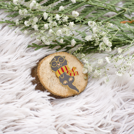 Image of FERRET WIZARD PIN