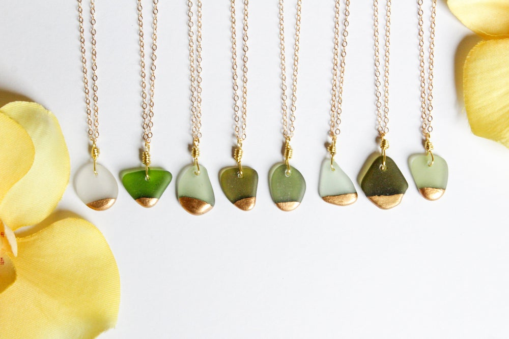 Image of Gold Dipped Necklaces - Multiple Ones