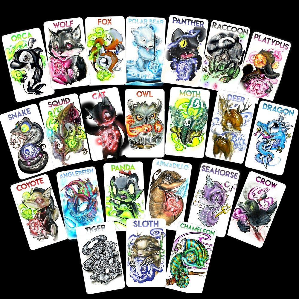 """Image of """"What's your Spirit Animal?"""" Card Deck"""
