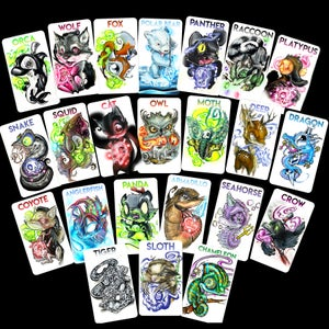"Image of ""What's your Spirit Animal?"" Card Deck"