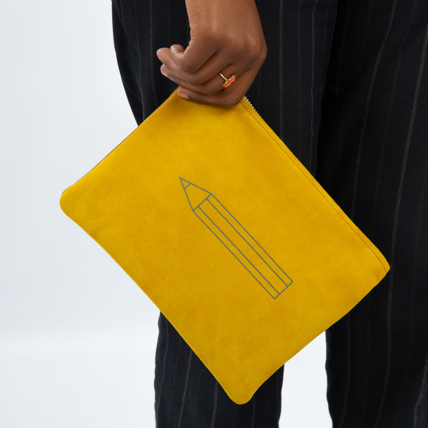 Image of handmade CLUTCH BAG leather