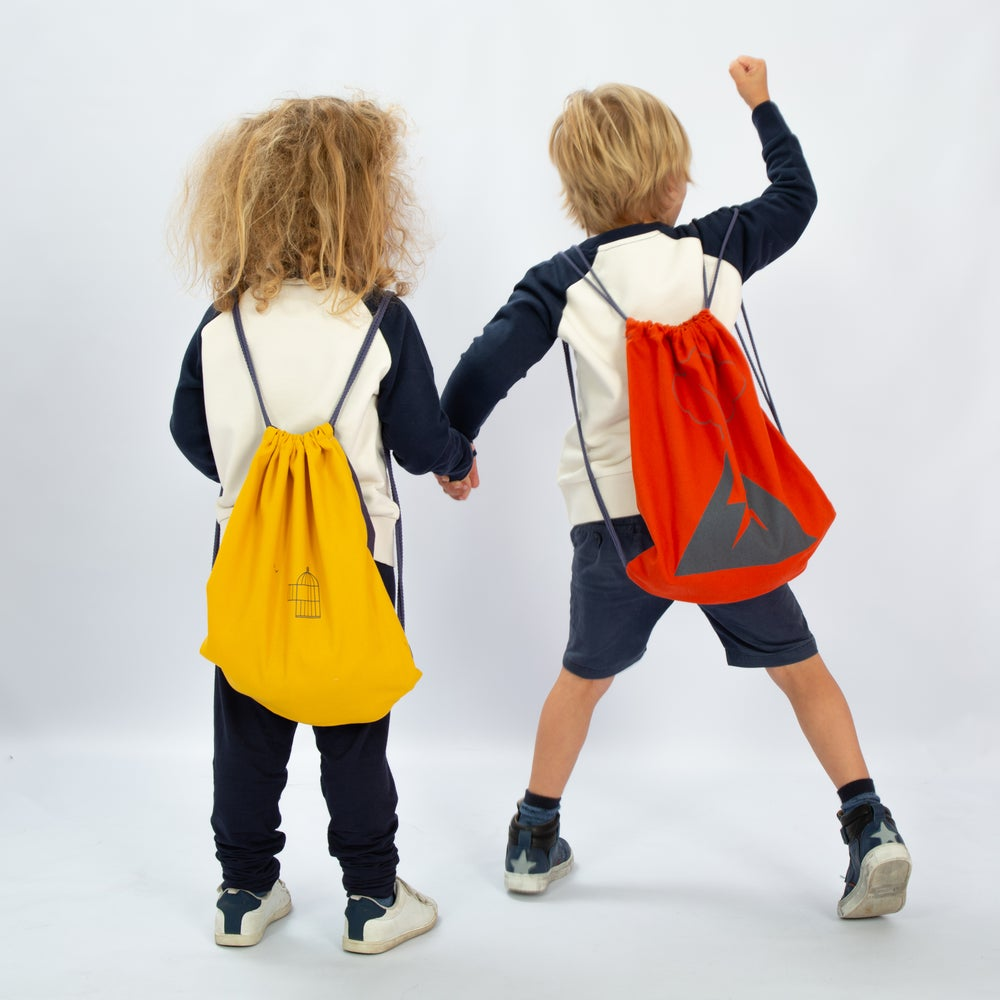 Image of handmade BACKPACK cotton
