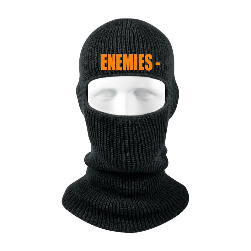 Image of Enemies One Hole Ski Mask