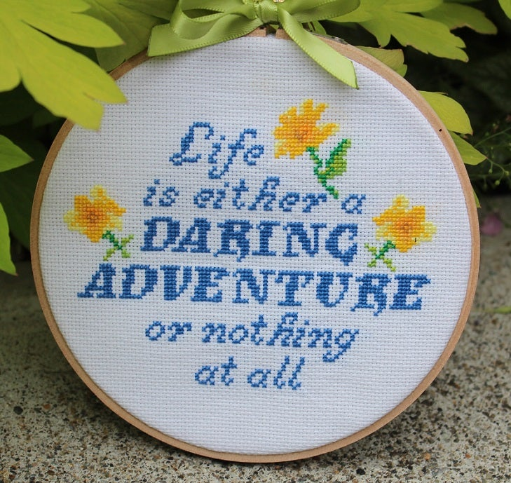 Image of Life is a Daring Adventure PATTERN PDF