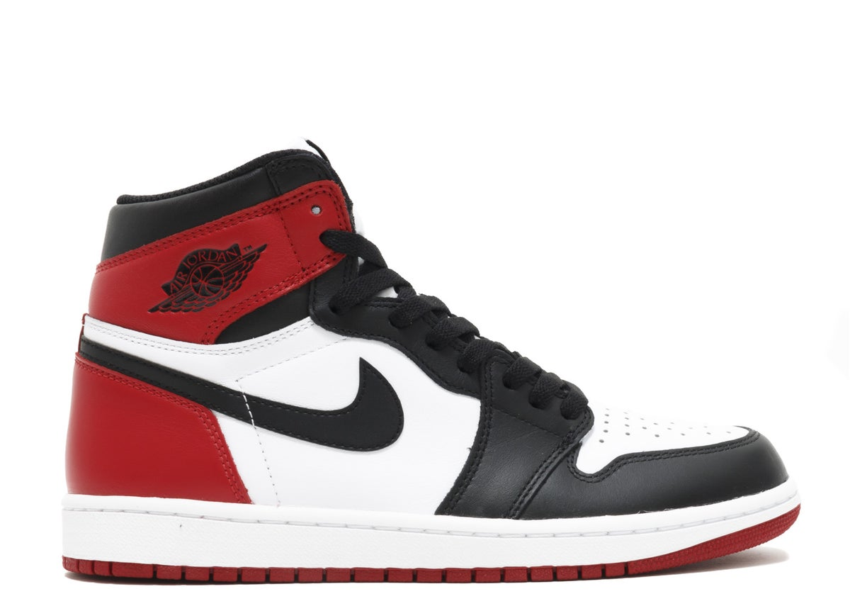 "Image of  AIR JORDAN 1 RETRO HIGH OG ""BLACK TOE 2016 RELEASE"""