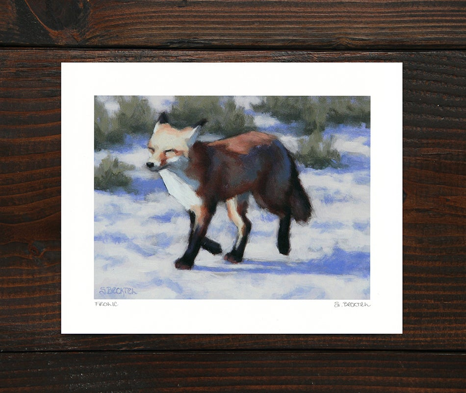 "Image of ""Frolic"" Art Print"