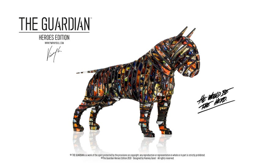 """Image of THE GUARDIAN """"HEROES EDITION"""" (Limited Edition 8 Units)"""