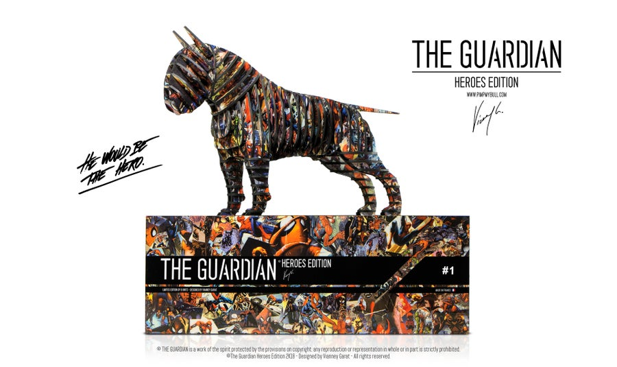 """Image of THE GUARDIAN """"HEROES EDITION"""" (LIMITED EDITION 0/8 UNITS ONLY)"""