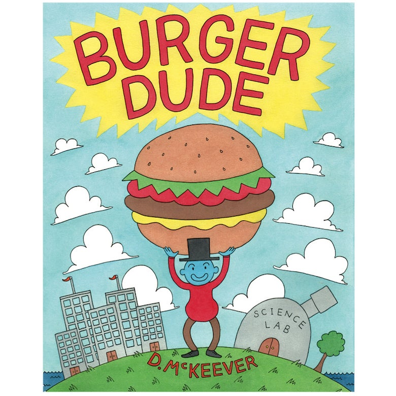 Image of Burger Dude Comic Book