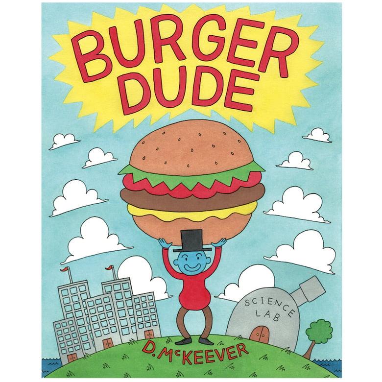 Image of Burger Dude Comic Book