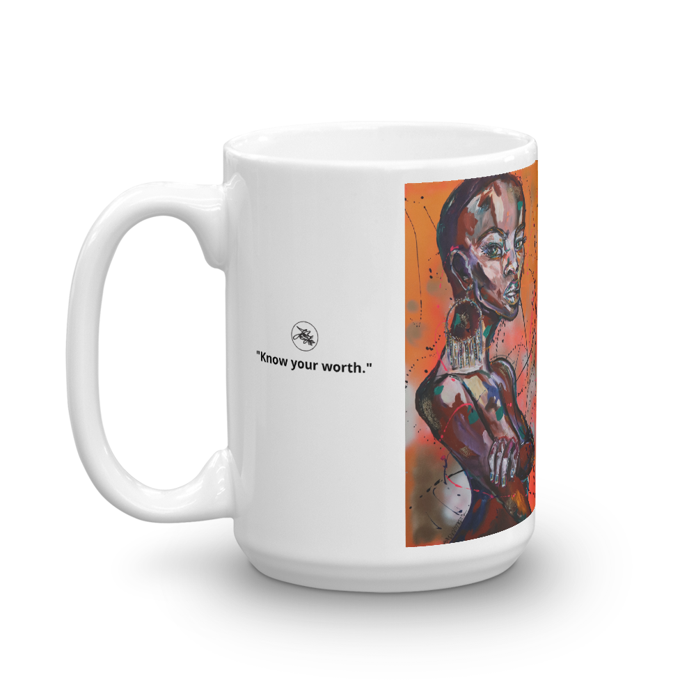 "Image of ""Know Your Worth"" Coffee Mug"