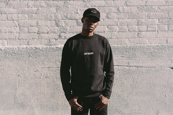 Image of Black DBYF Crewneck