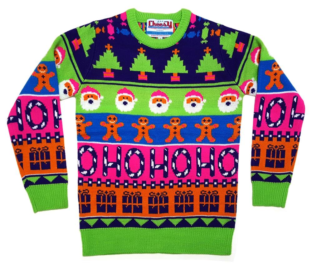 Image of Sweet Mashup Christmas Jumper - Unisex