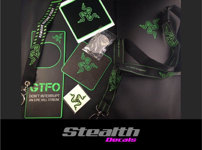 Image of Razer Gaming Accessories Bundle Pack Pc Gaming, Ps4, Xbox, Pro Gaming.